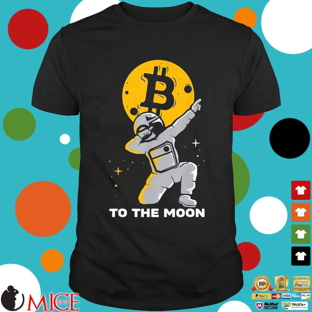 Bitcoin Course To The Moon Bitcoin Us 2021 Shirt