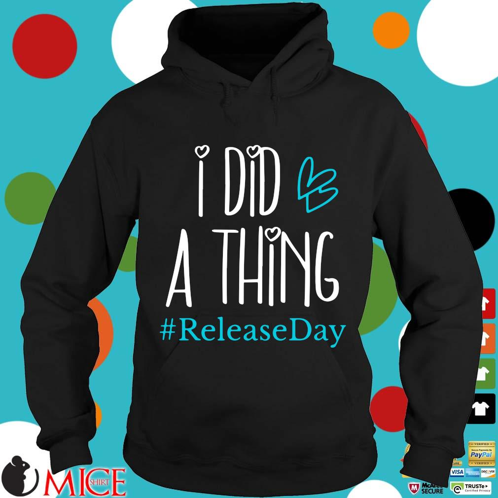 I did a thing #Releaseday s Hoodie