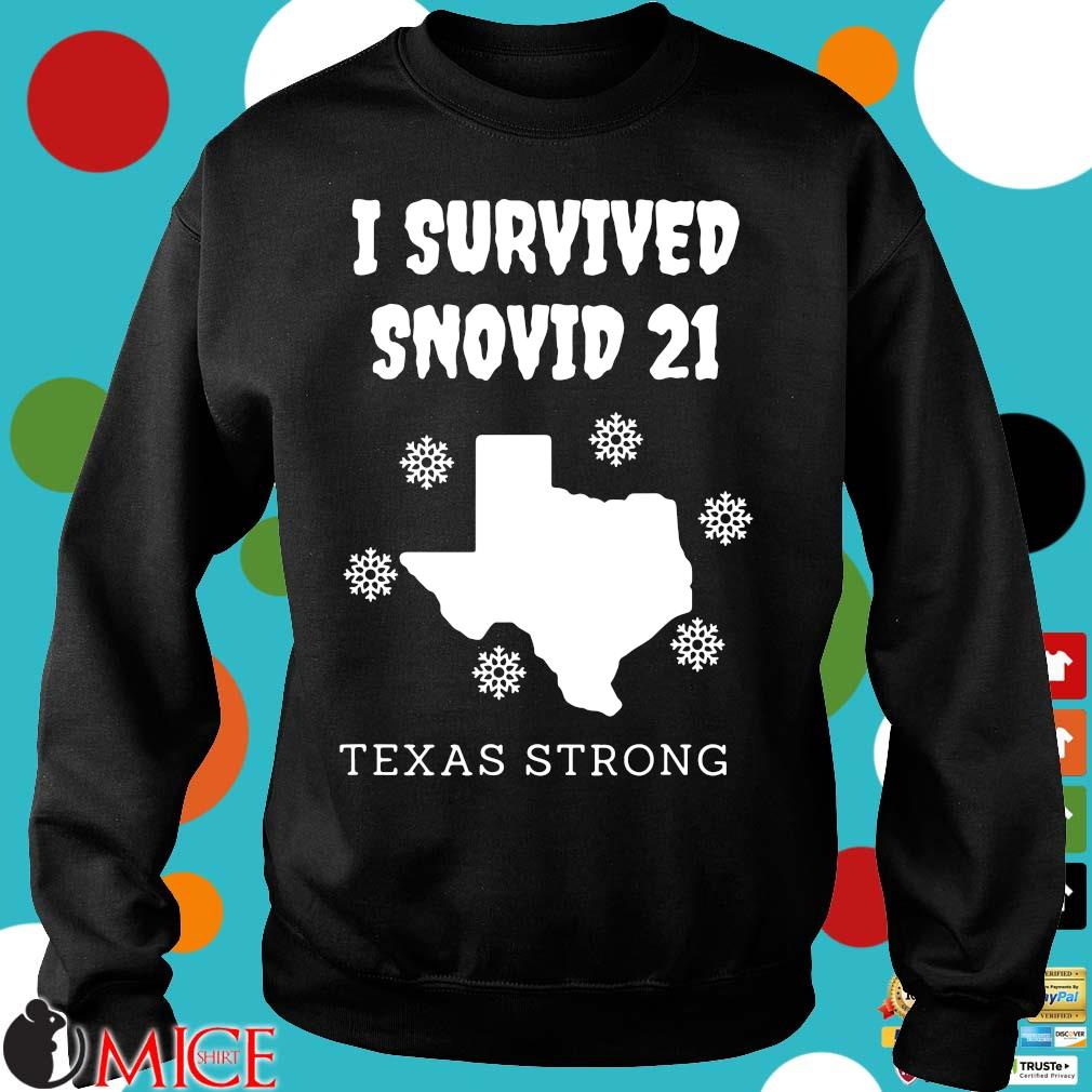 I survived 2021 Texas strong s Sweater