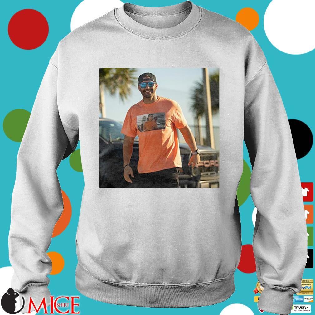 J.D. Martinez Tom Brady Drunk Shirt Sweater trang