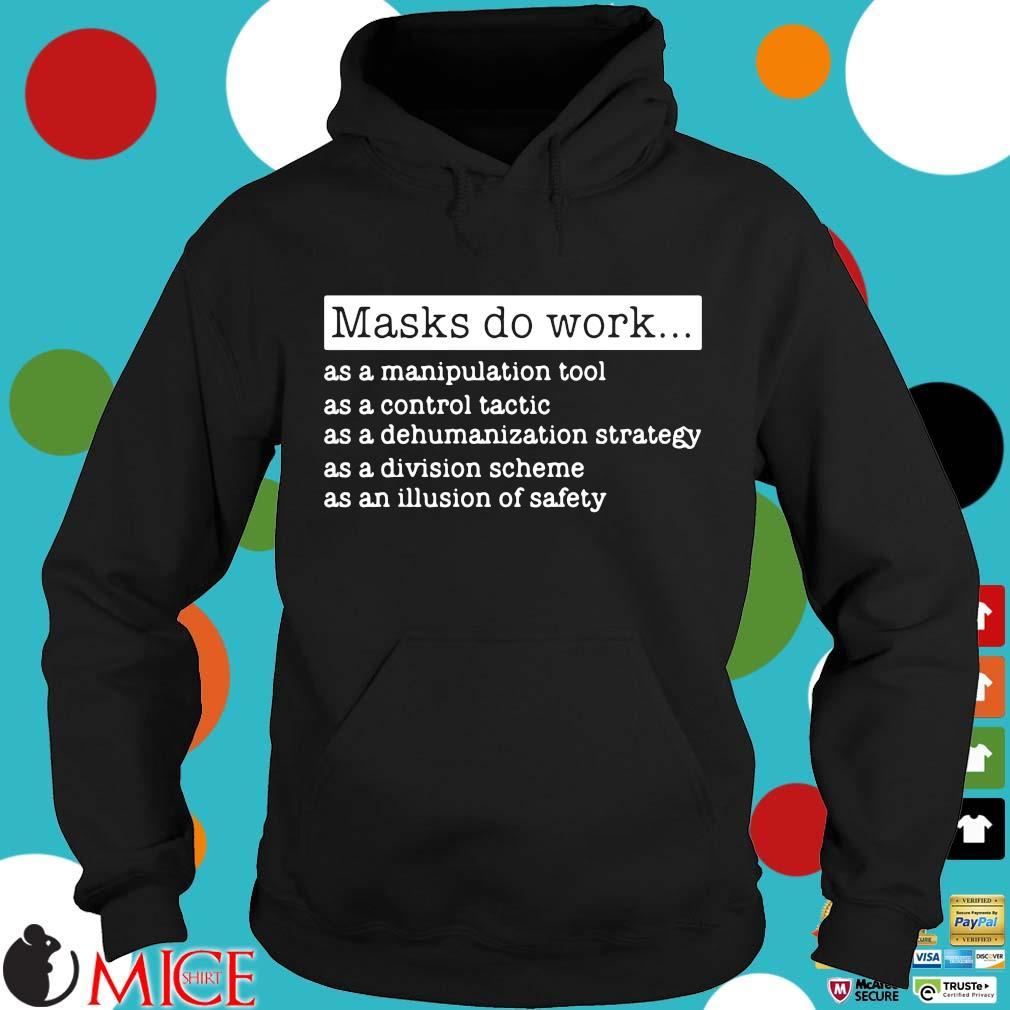 Masks do work as a manipulation tool as a control tactic s Hoodie