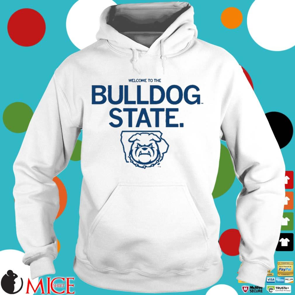Welcome to the bulldog state s Hoodie trang