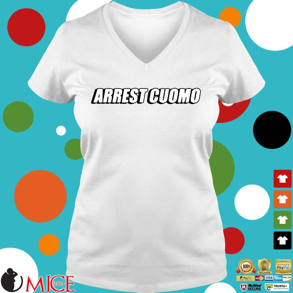 Arrest cuomo Ladies V-Neck trangs