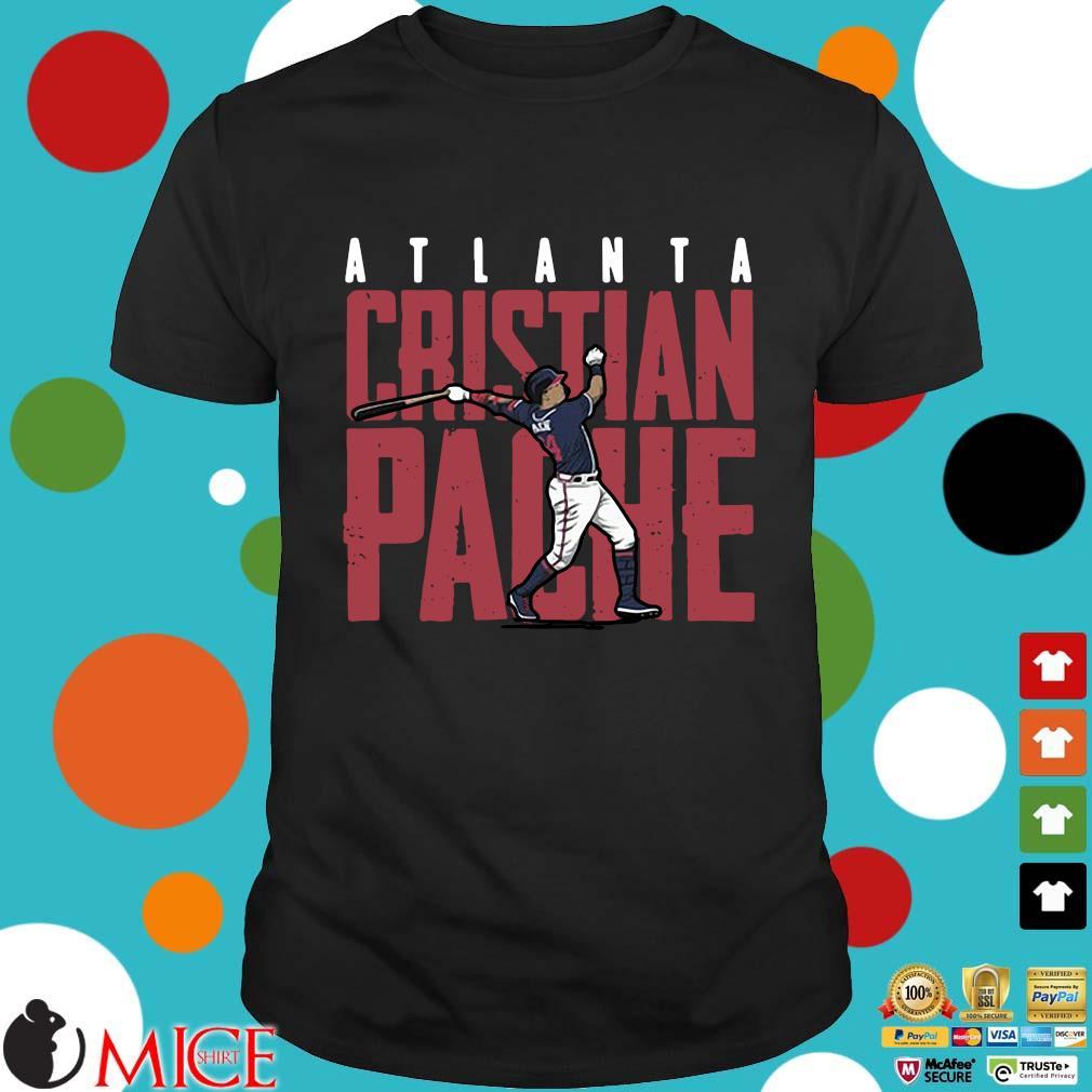 Atlanta Rristian Pache baseball shirt