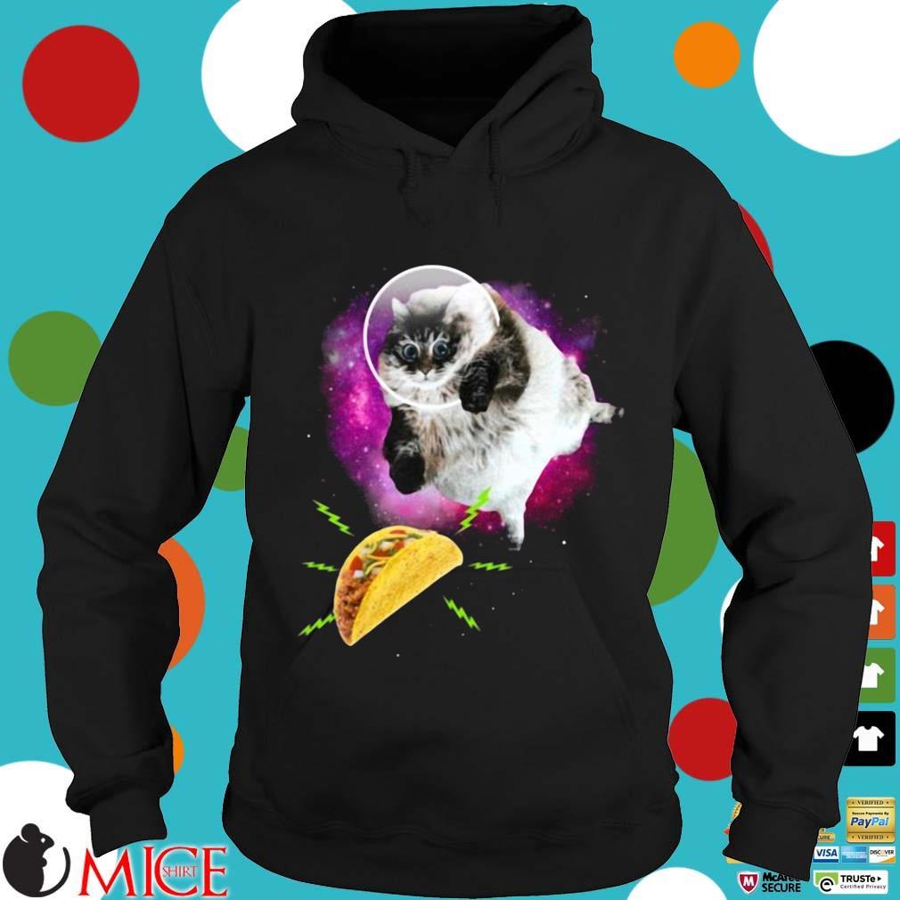 Cat Taco Astronaut Shirt Hoodie