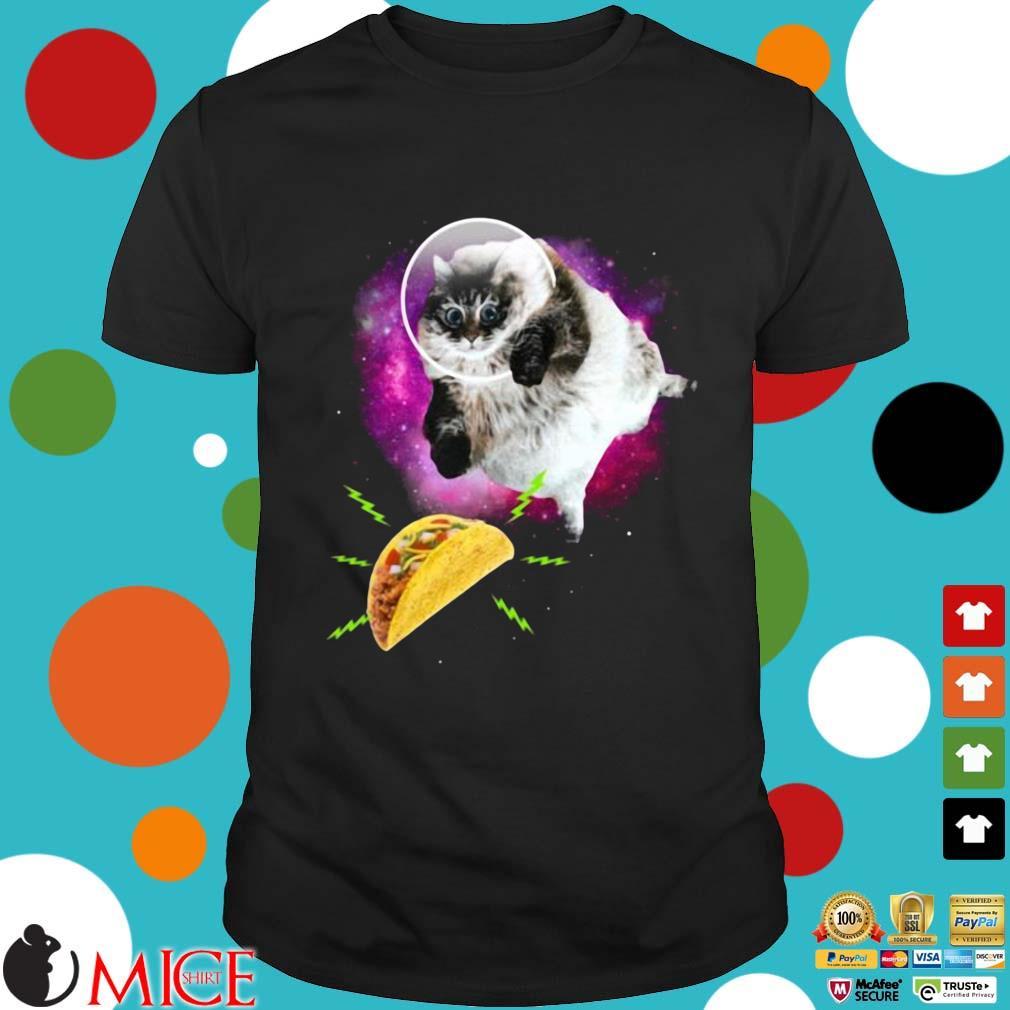 Cat Taco Astronaut Shirt