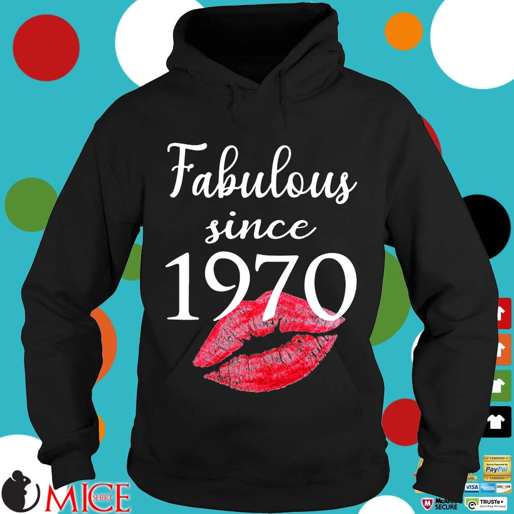 Fabulous since 1970 lips Hoodie