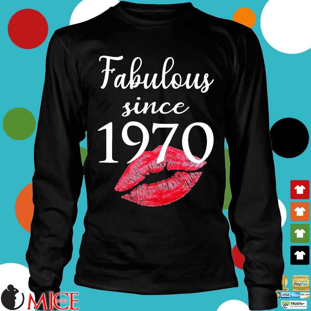Fabulous since 1970 lips Longsleeve