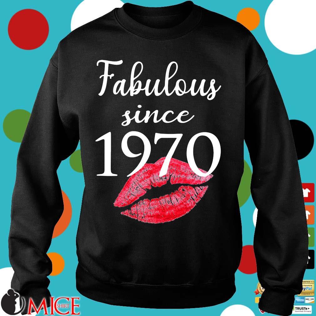 Fabulous since 1970 lips Sweater
