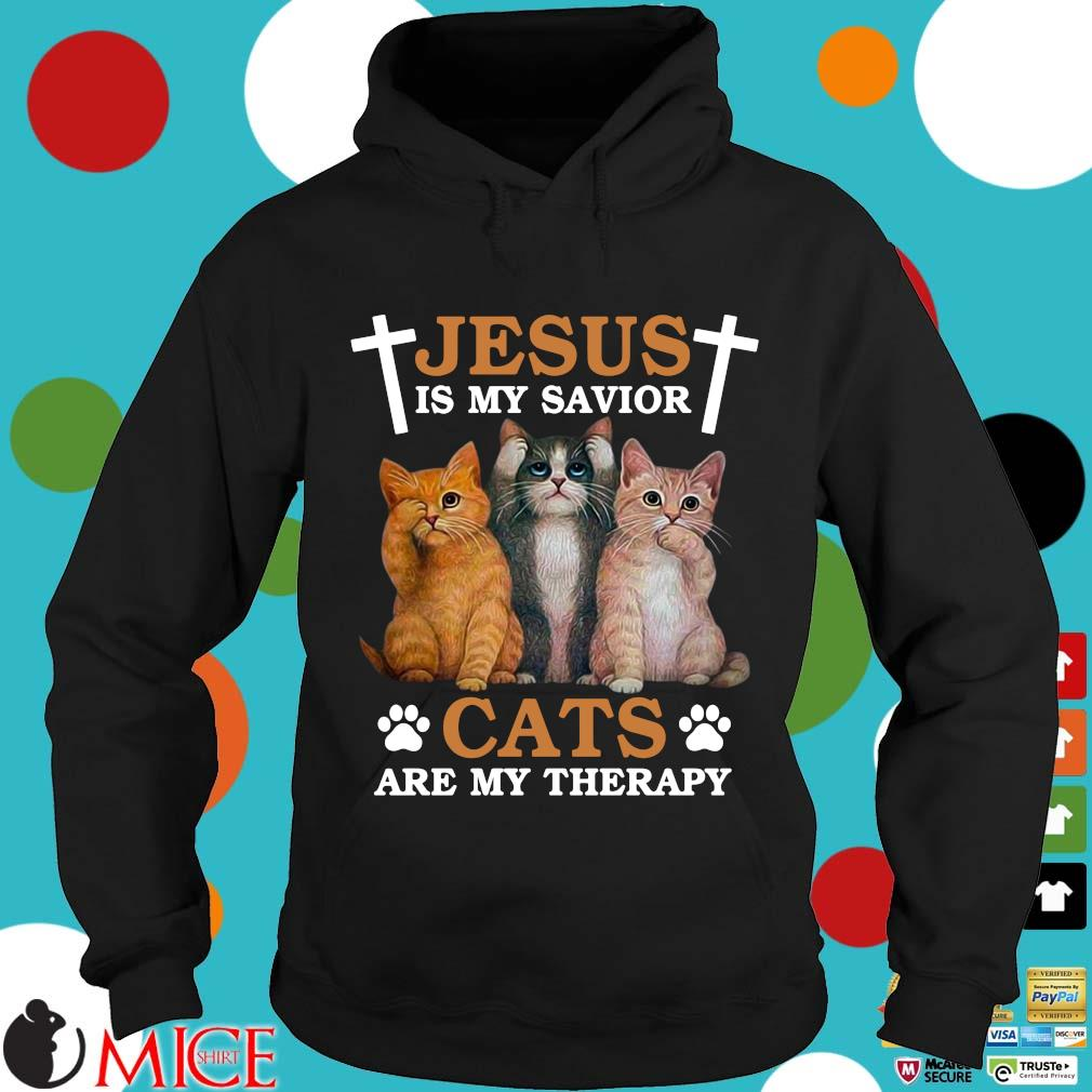 Jesus is my savior cats Hoodie