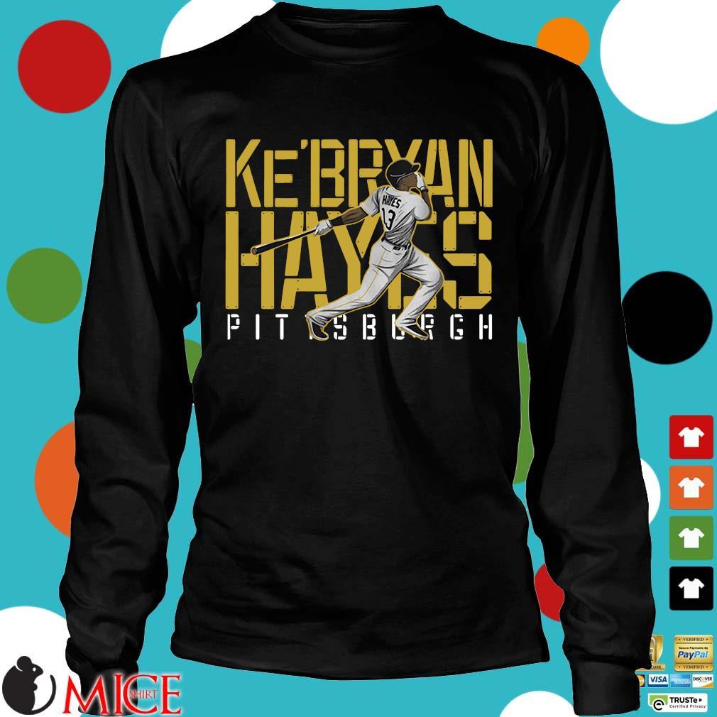 Ke'bryan Hayes Pittsburgh Baseball 2021 Shirt Longsleeve