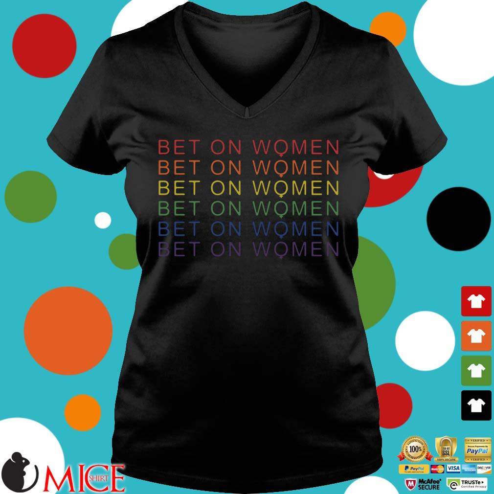 LGBT bet on women Ladies V-Neck