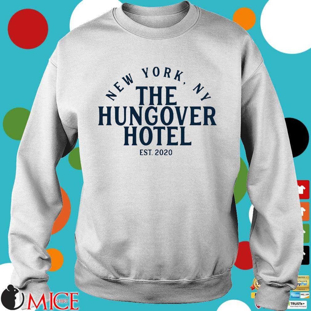 New York ny the hungover hotel est 2020 Sweater trang