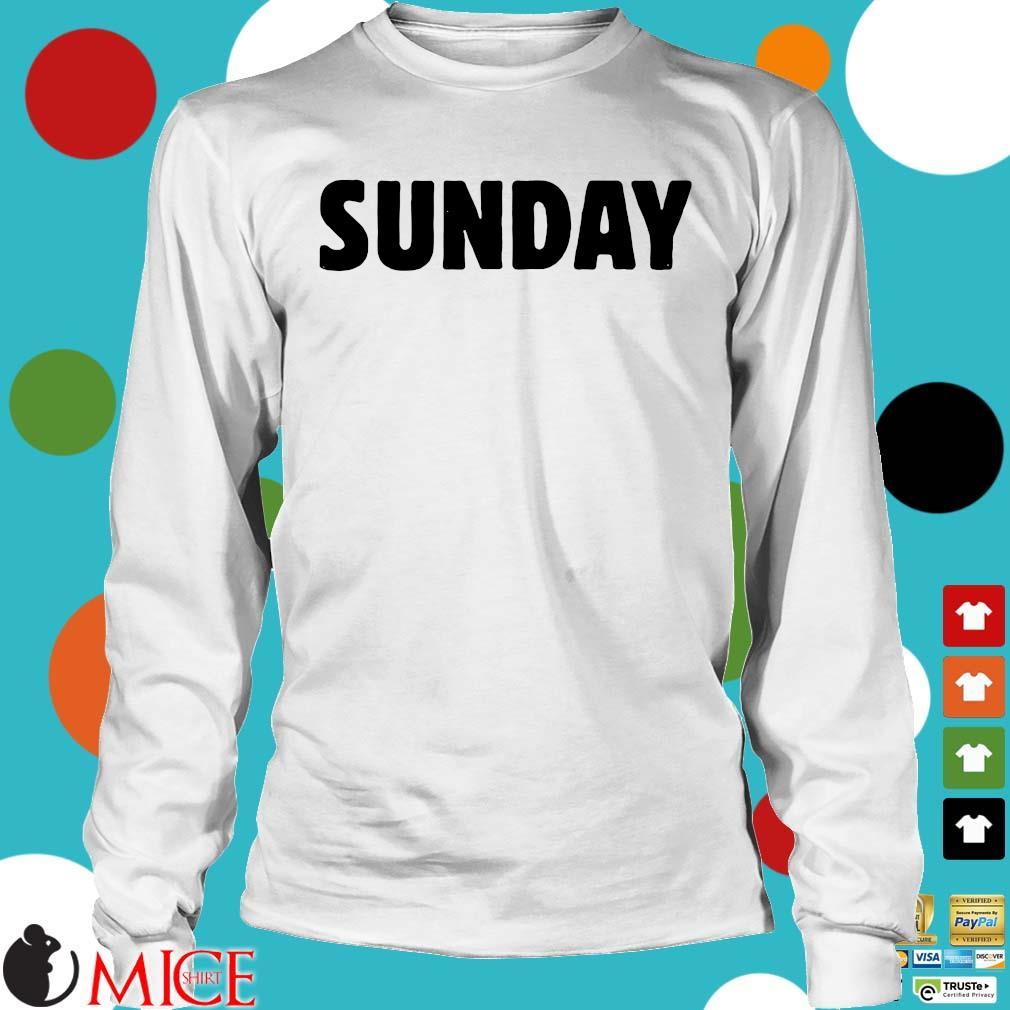 Official 2021 Sunday Shirt Longsleeve trang