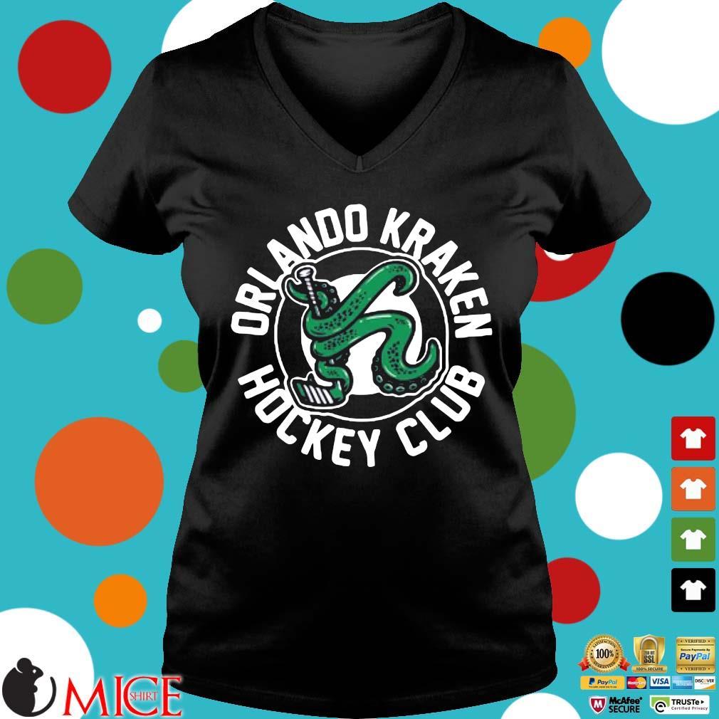 Orlando Kraken hockey club Ladies V-Neck