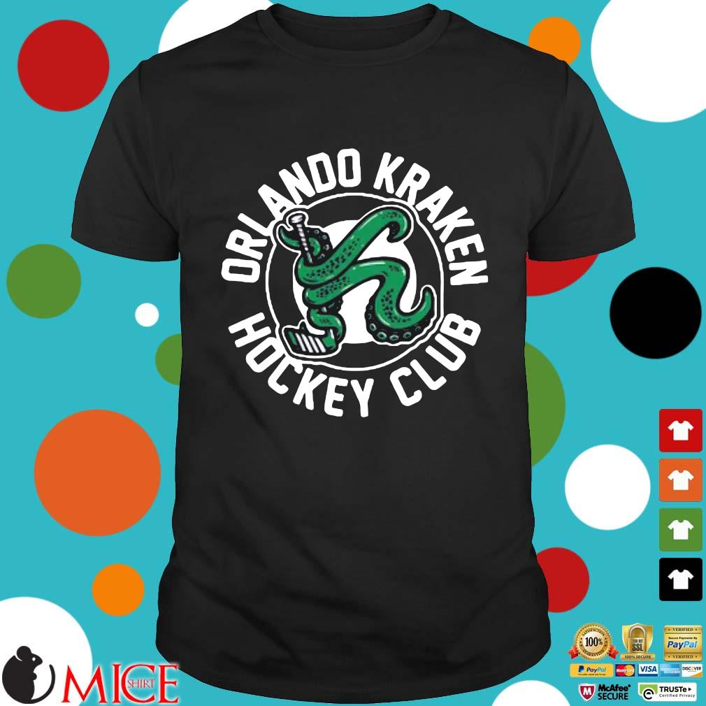 Orlando Kraken hockey club shirt
