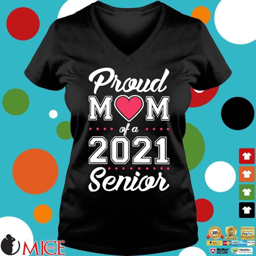 Proud mom of a 2021 senior Ladies V-Neck