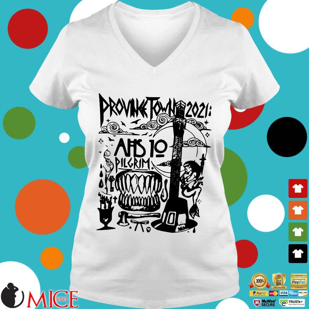 Prounk Town 2021 AHS 10 Pilgrim Shirt Ladies V-Neck trangs