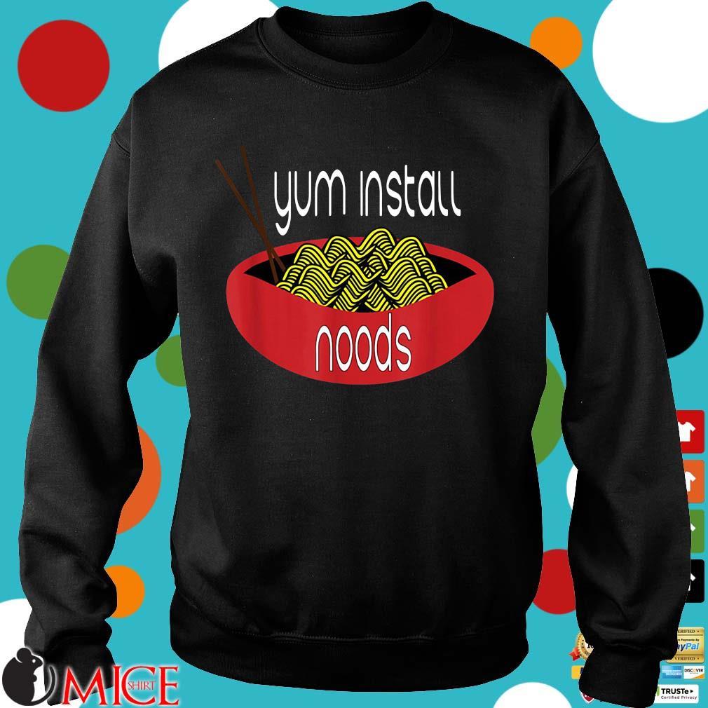 Ramen gum install noods Sweater