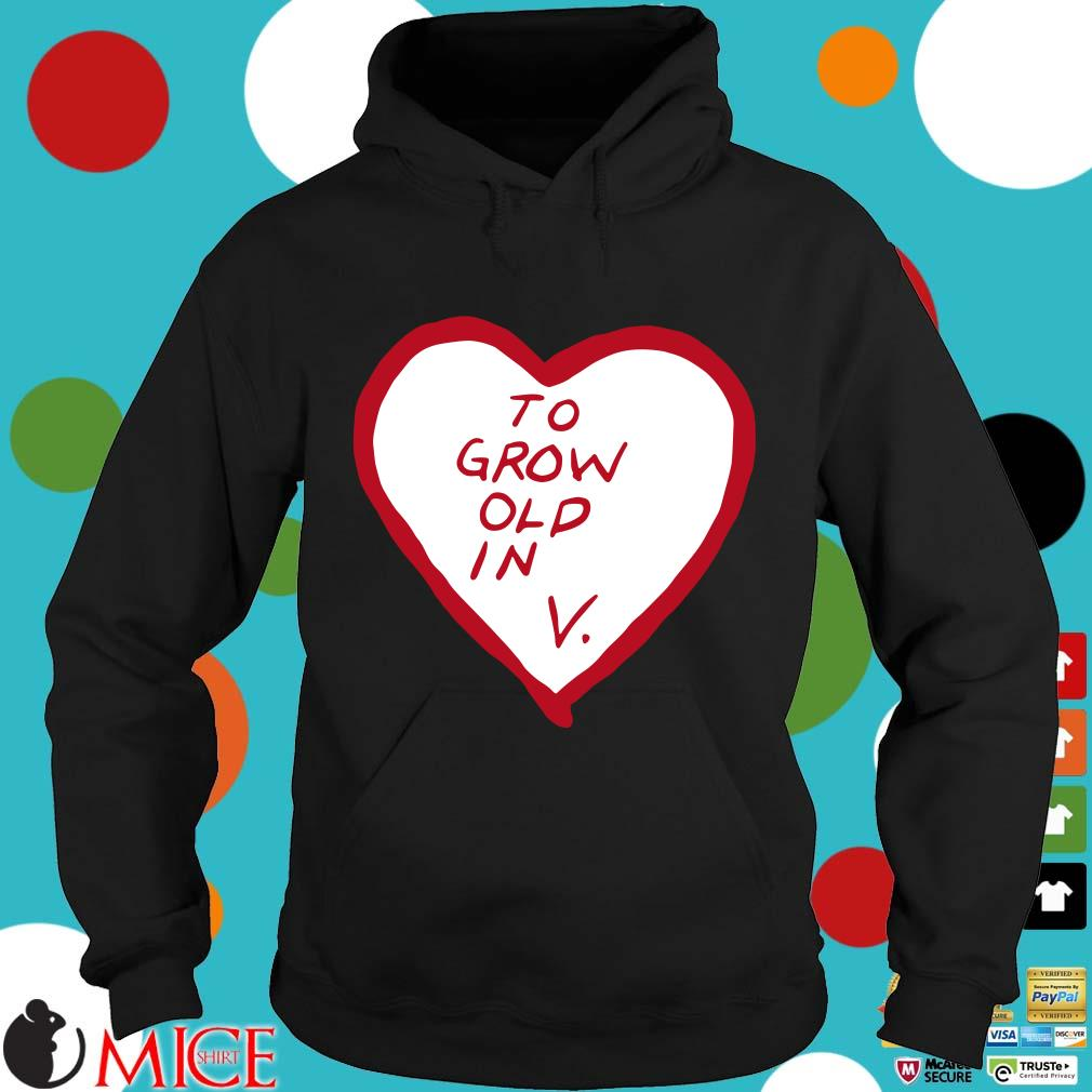 To grow old in heart Hoodie