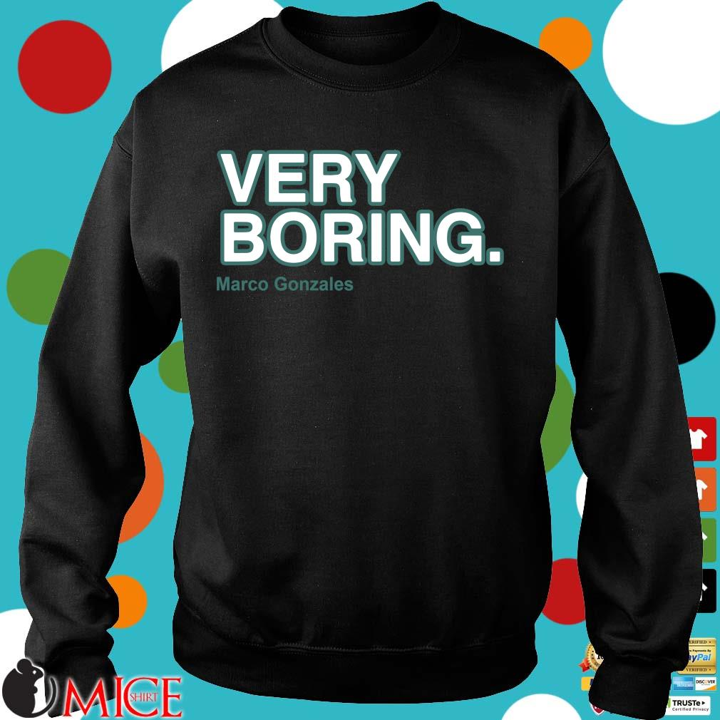 Very boring Marco Gonzales Sweater