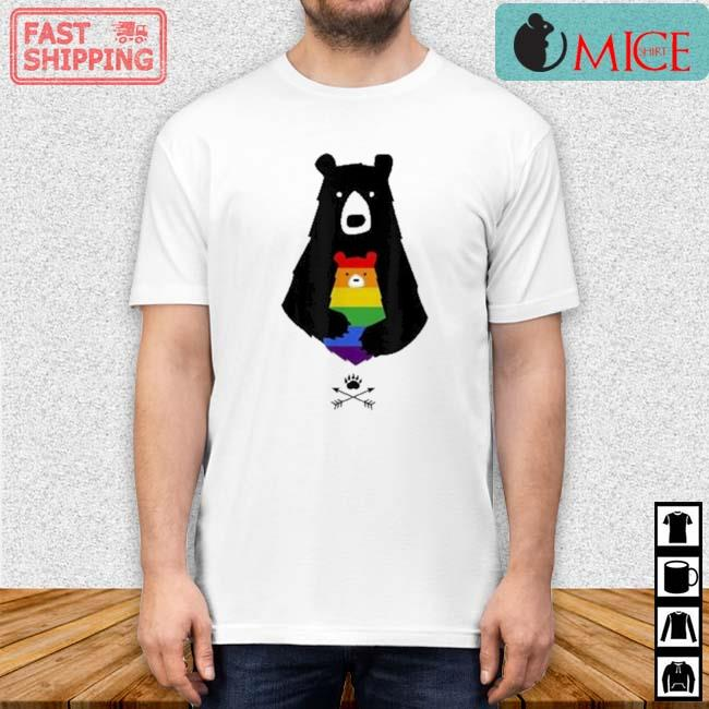 LGBT Mom Mama Bear Shirt