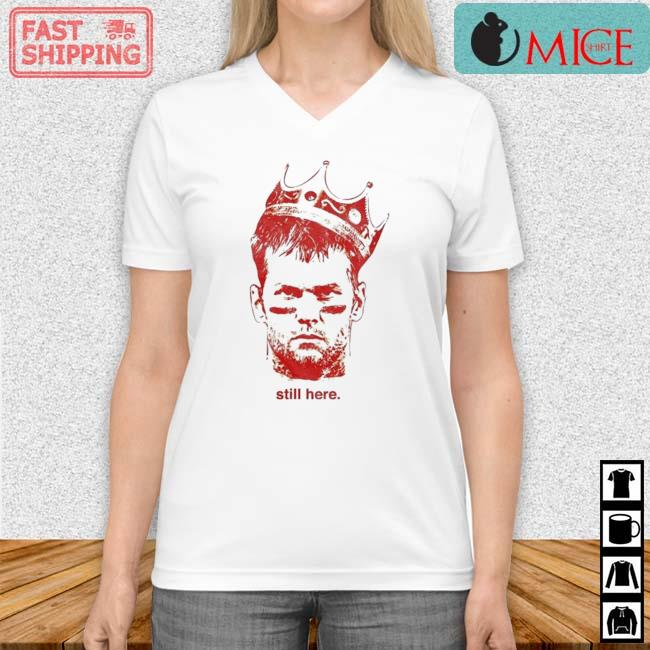 Till Here King TB Shirt Vneck trang