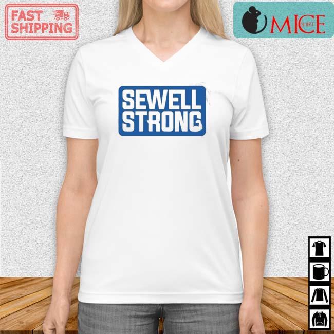 Sewell Strong 2021 Shirt Vneck trang