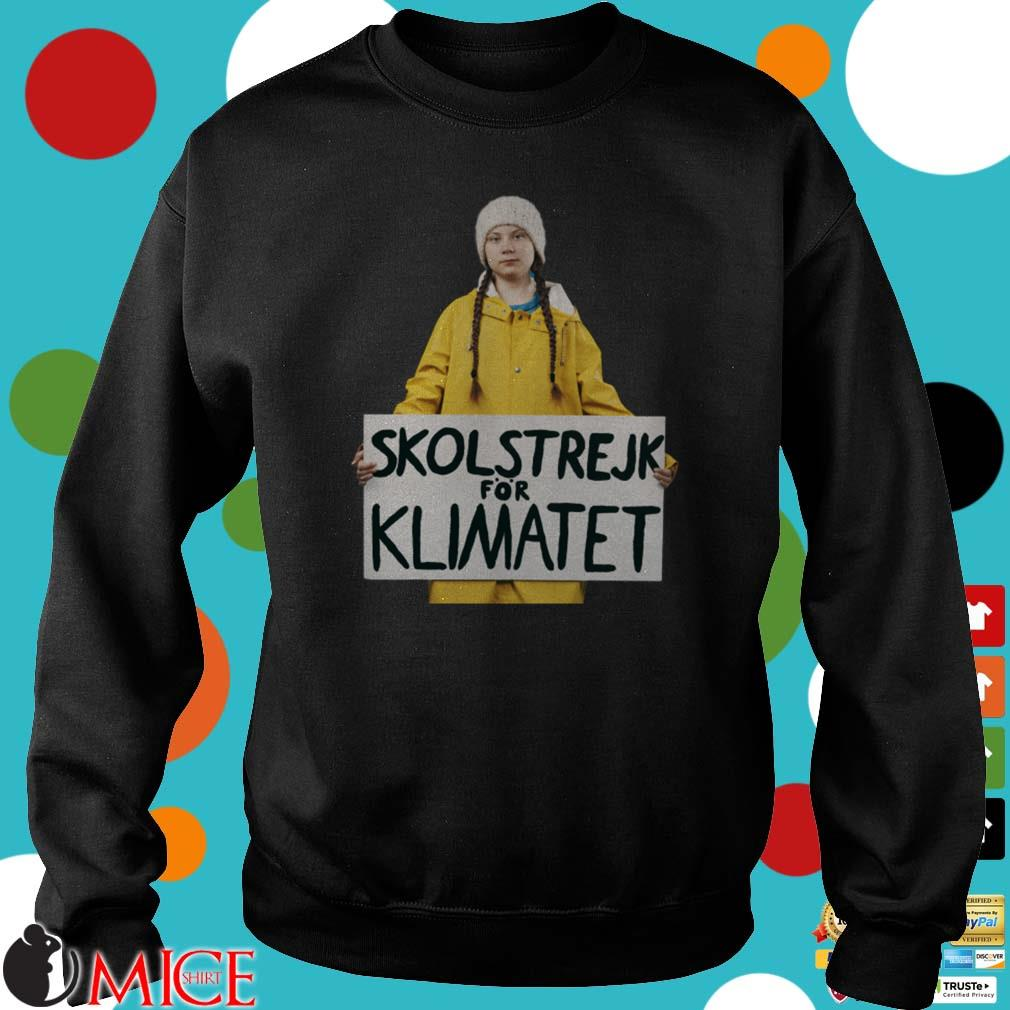 Greta Thunberg Skolstrejk For Klimatet Shirt