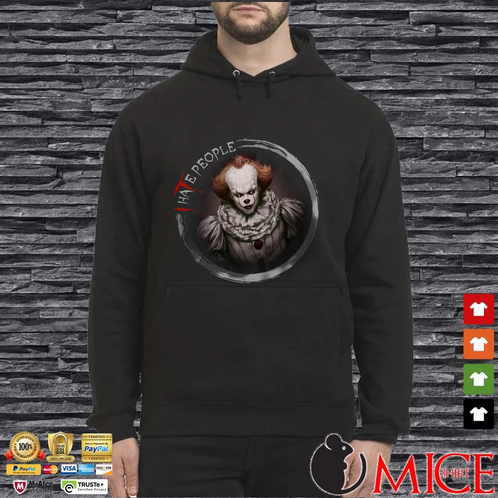 I Hate People Scary Pennywise It Chapter Ii Horror Movie Halloween Shirt