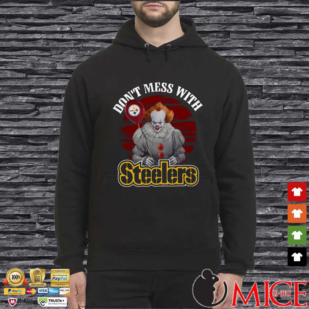 Pennywise IT Don't mess with Steelers Shirt