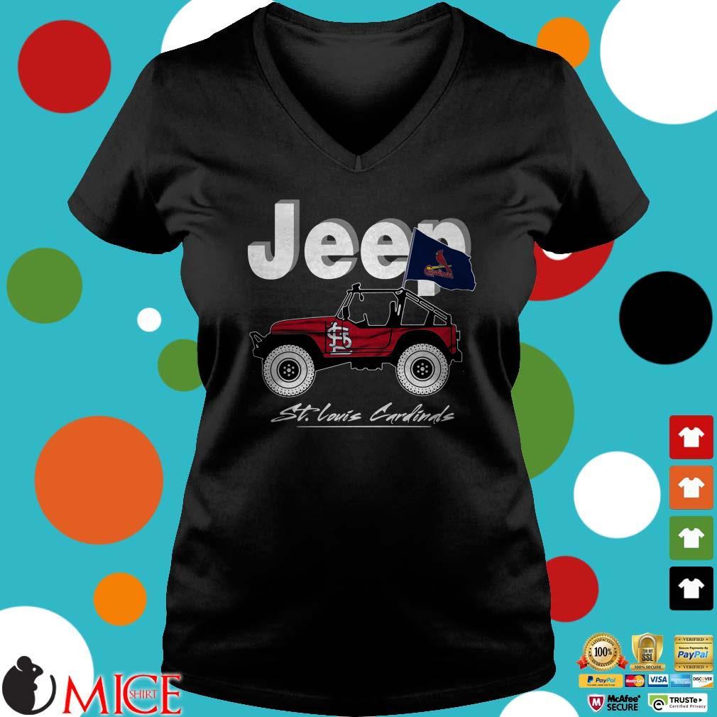 Jeep St Louis Cardi Shirt