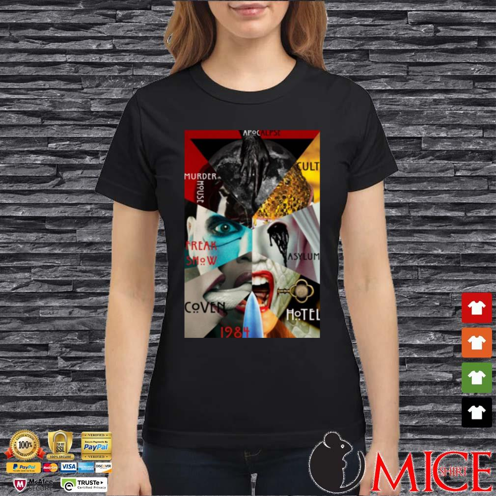 American Horror Story All Seasons Shirt