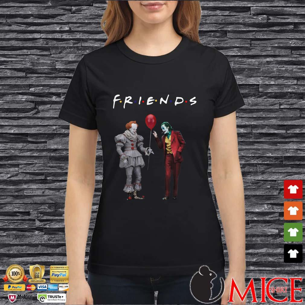 Friends Pennywise And Joker Shirt