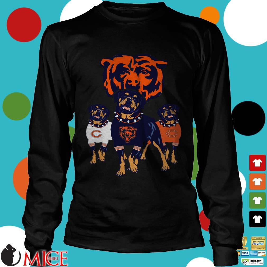 Chicago Bears Rottweiler Dog Shirt