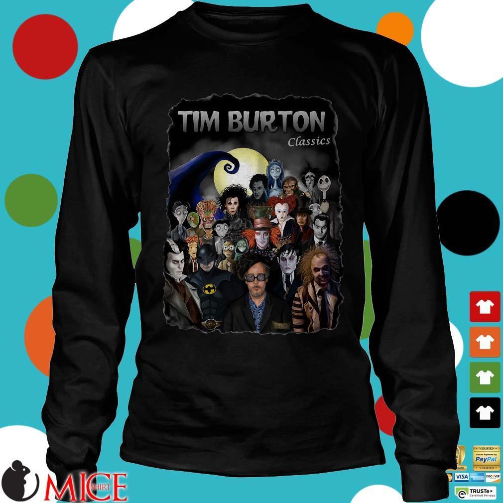 Tim Burton Characters Classics Shirt