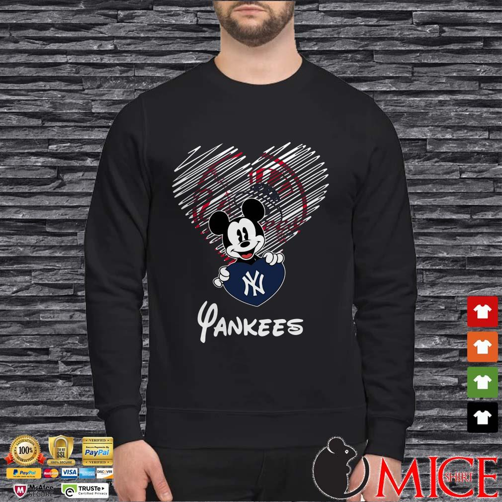 Mickey Mouse Yankees New York Yankees Shirt