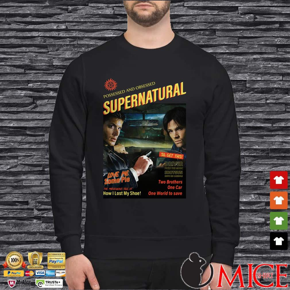 Supernatural End Of The Road Supernatural Day 2019 Shirt