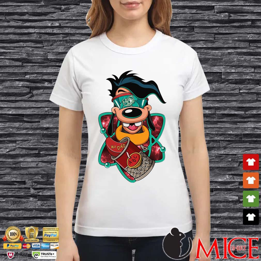Max Goof Hi Dad ABC Soup Shirt