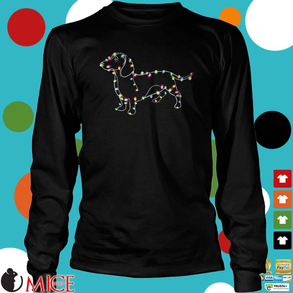 Dachshund Light Christmas Shirt