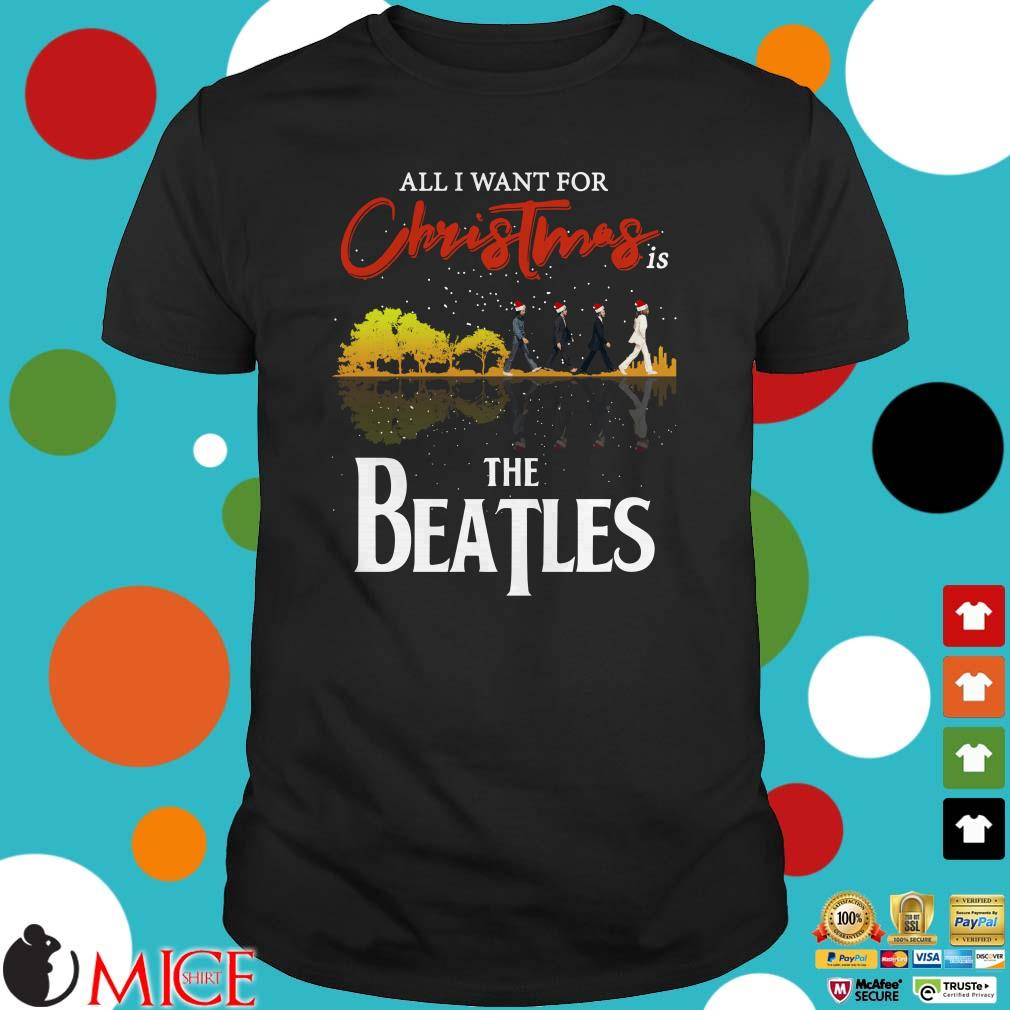 All I Want For Christmas Is Guitar The Beatles Santa Sweater