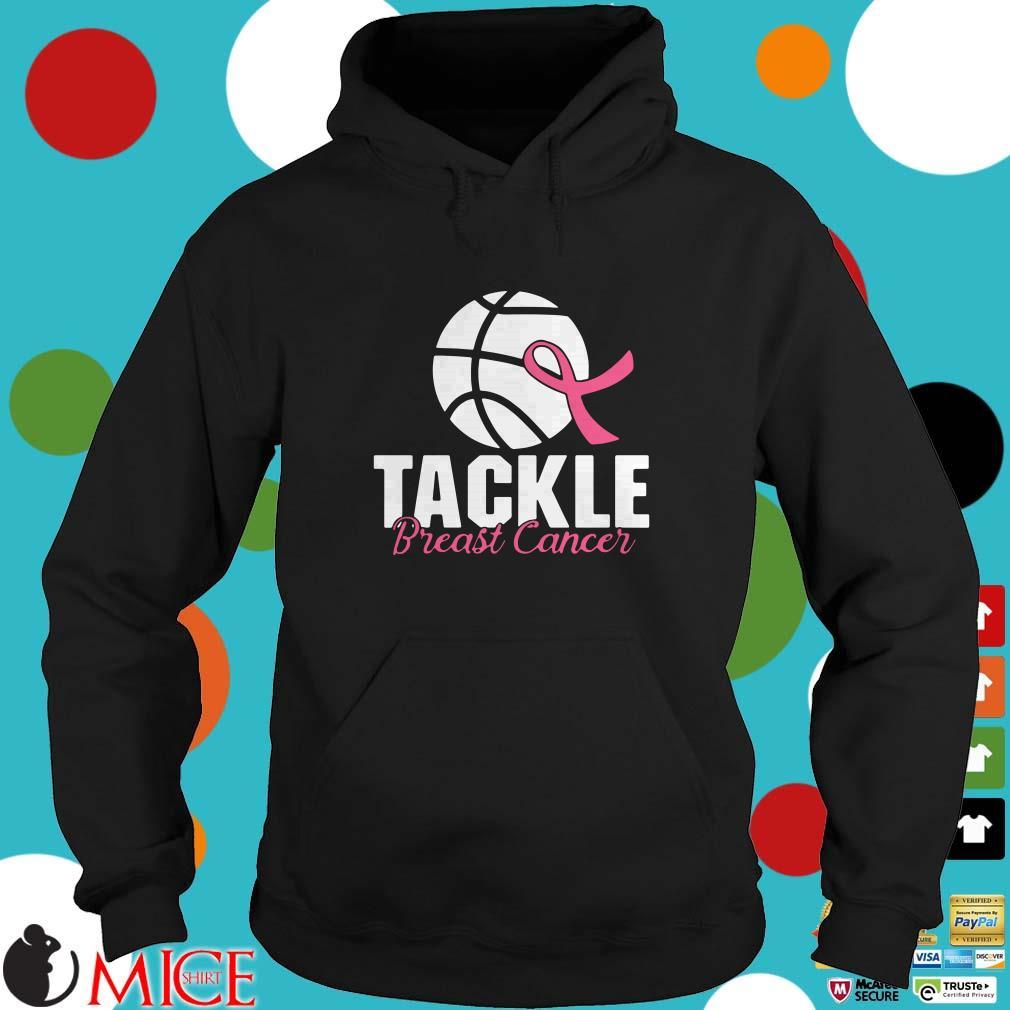 Basketball Tackle Breast Cancer Shirt