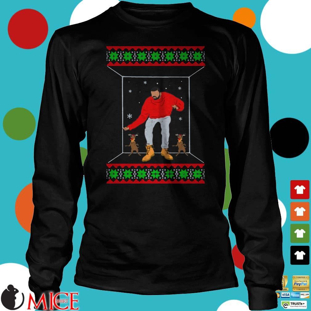 Drake Sleigh Bell Bling Christmas Sweater