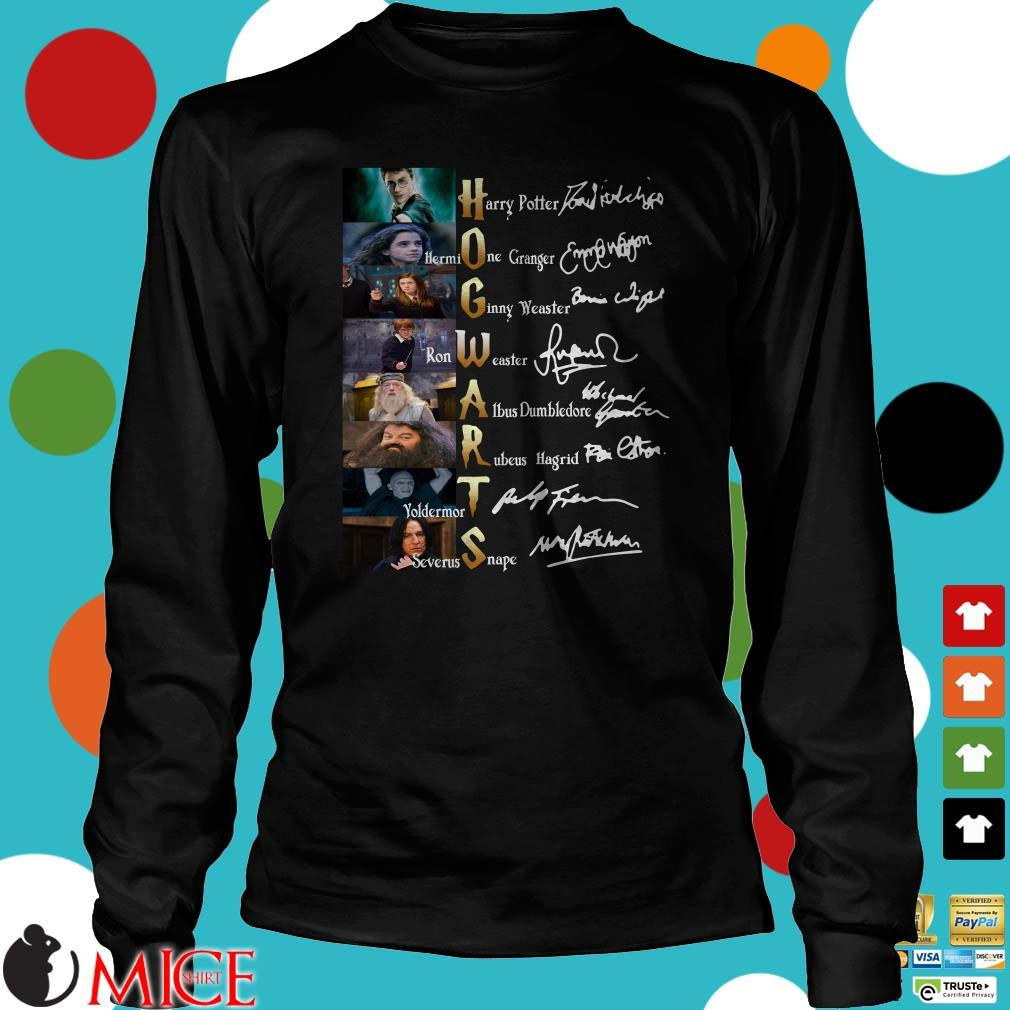 Harry Potter Hogwarts Members Signatures Sweater