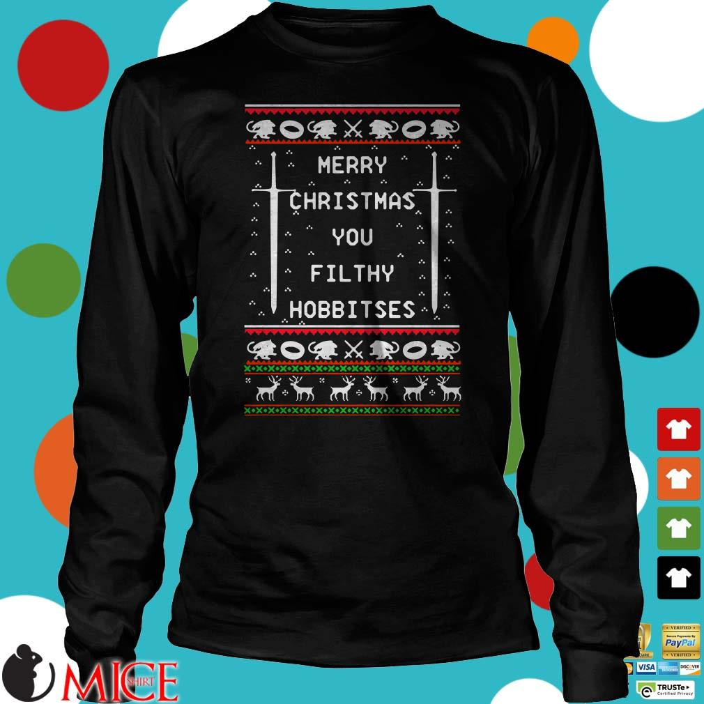Merry Christmas You Filthy Hobbitses Ugly Sweater