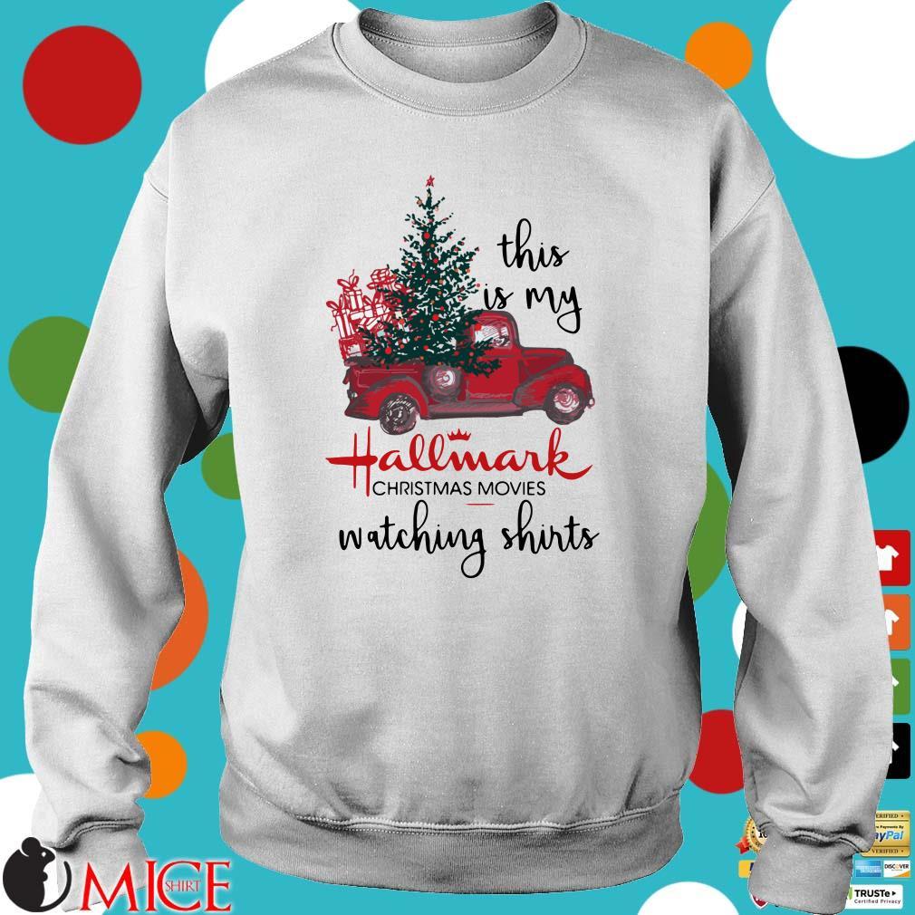 This Is My Hallmark Christmas Movies Watching Shirts Shirt