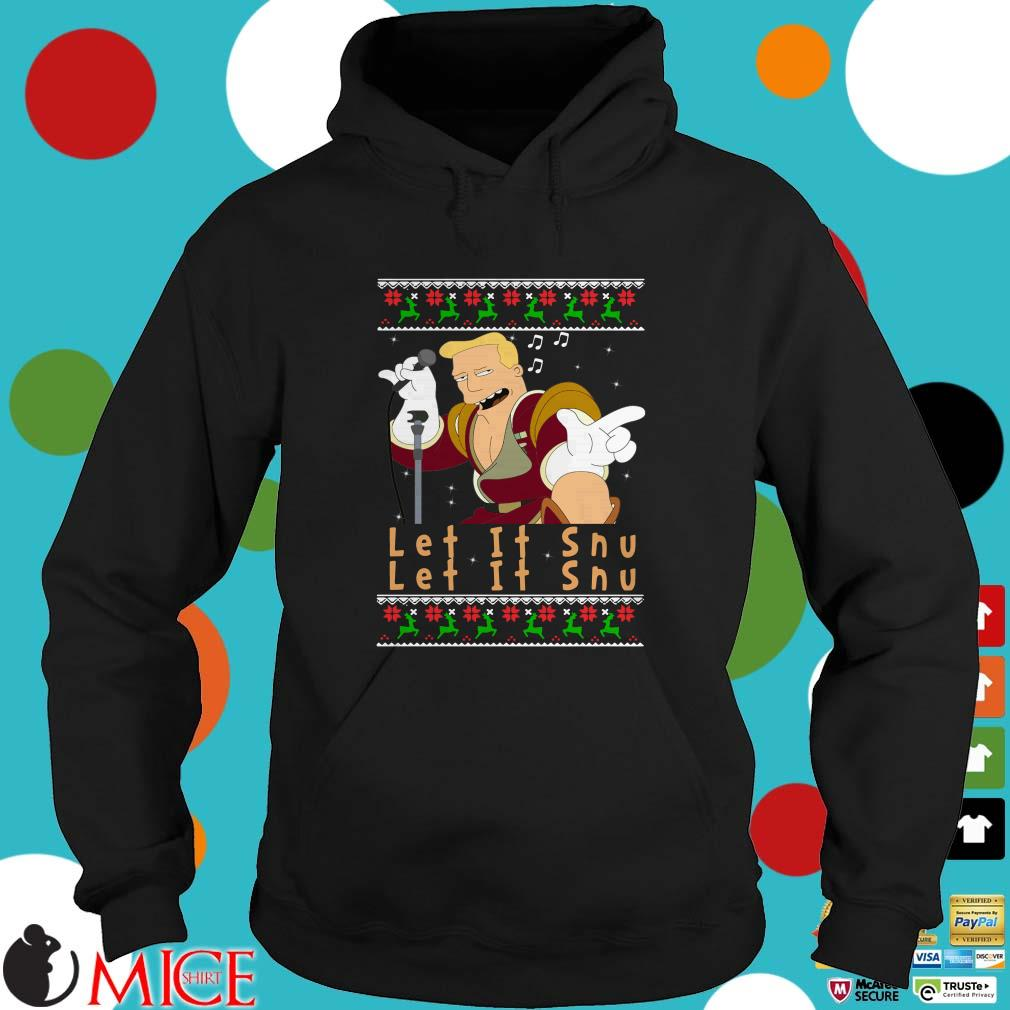 Zapp Brannigan let's it snu Christmas Sweater