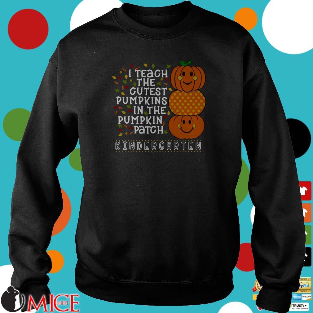 I teach the cutest pumpkins in the patch high school teacher cute pumpkin faces Halloween shirt