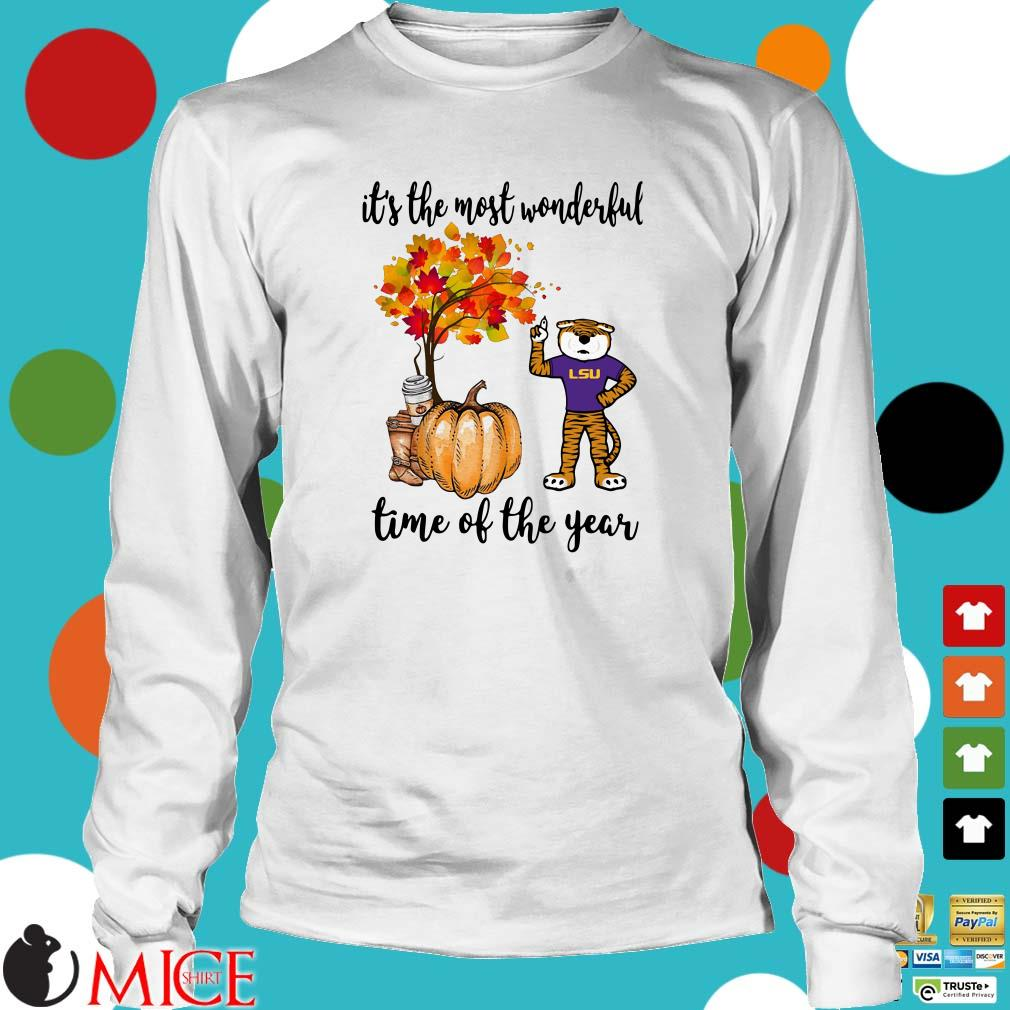 LSU tigers it's the most wonderful time of the year shirt