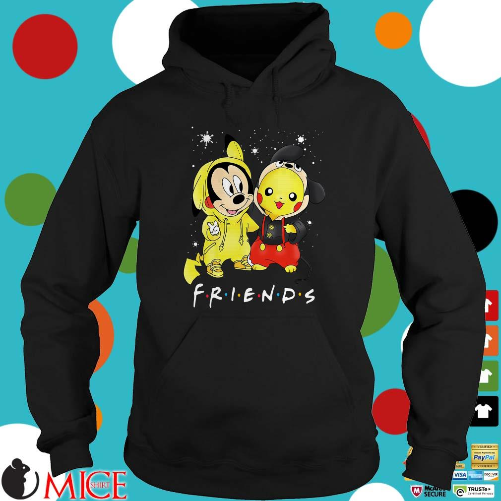 Baby Mickey Mouse And Pikachu Friends Christmas Sweater